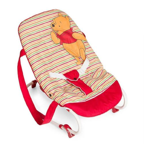 New Hauck Disney Winnie the Pooh Spring Red Baby Bouncer Rocky Bungee 0 to 9KG